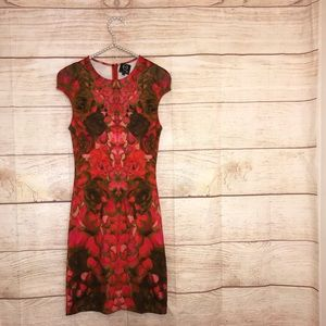 Alexander McQueen size small gorgeous red dress